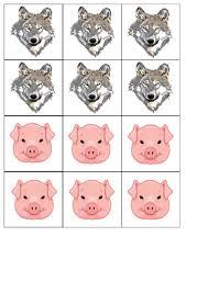 Thème Les 3 Petits Cochons Maitresse Myriam