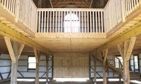 Pole Barn Designs Loft Plans Menards Shed Howtodiy Home Building