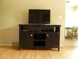 Image Of Rustic Media Console Cabinet