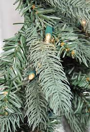 Silver Tip Christmas Tree Artificial by 9 U0027 Pre Lit Blue Spruce Full Artificial Christmas Tree Clear
