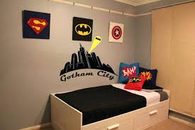 Superhero Room Decor Australia Simple Kids Bedroom With Wall And Pillow Cover
