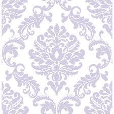 NuWallpaper Purple Ariel Peel And Stick Wallpaper NU1396