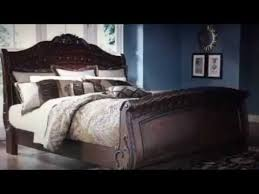 north shore king sleigh bed 680 youtube