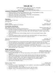 Volunteer Work On Resume Example