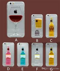 Personalized Wine Glass Cocktail Phone Cases Iphone 5 5s 6 Plus