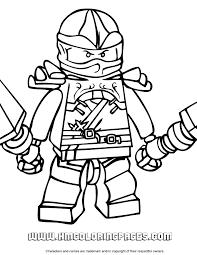 Kai Ninjago Coloring Page