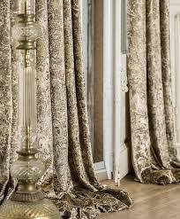 barock gardinen vorhange mare lizzo gold vorhänge