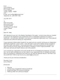 Sample Cover Letter For Nurse Resume Practitioner Position With Regard