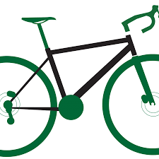 Bamboo Bike Clipart