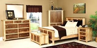 Bedroom Oak Furniture Made Walnut Maple Bedroom Set Limed Oak
