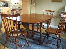Maple Dining Set Circa For Sale Heywood Wakefield Chairs Vintage