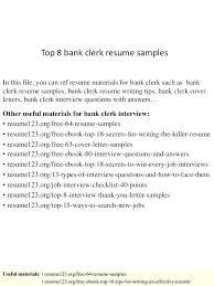 Banking Teller Resume Objective For Bank Teller Resume Awesome