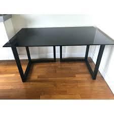 bureau avec tr eaux bureau avec treteau bureau avec plateau verre tracteaux en chane