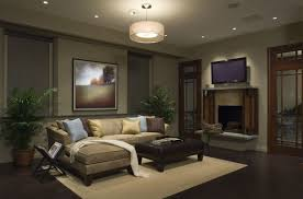 Brown Living Room Ideas Uk by Romantic Living Room Decor Red Armed Sofa Brown Stained Wood Table