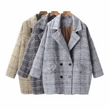 popular plaid winter coats buy cheap plaid winter coats lots from