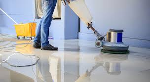 Floor Buffer Maintenance by Floor Buffing Shine Bright Cleaners Myrtle Beach Sc