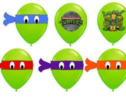 Ninja Turtle Decorations Nz by Ninja Turtle Mask Etsy