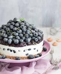no bake blueberry cheesecake salzig süß und lecker