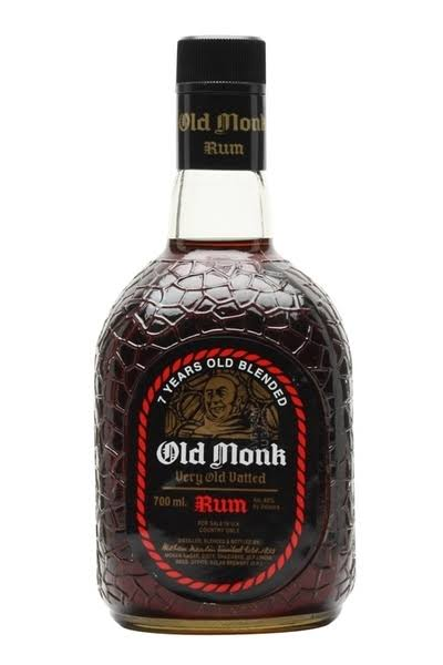 Old Monk Dark Rum - 750ml