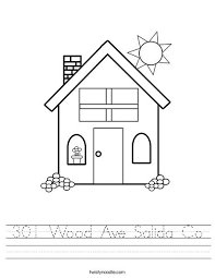 301 Wood Ave Salida Co Worksheet From TwistyNoodle