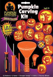 Pumpkin Masters Carving Patterns by Amazon Com Pumpkin Carving Kit Patterns May Vary Home Improvement