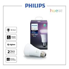 philips hue 10w a60 e27 single bulb smart zigbee lighting