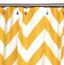 Target Yellow Chevron Curtains by Shower Curtains Yellow Room Ornament