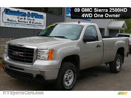 2009 GMC Sierra 2500HD Work Truck Regular Cab 4x4 In Silver Birch ... Syndromes09 2009 Gmc Sierra 1500 Regular Cabs Photo Gallery At Used Denali Dave Delaneys Columbia Serving Khyber Motors Ltd Wmz Auto Sales Sierra 4x4 Extended Cab All About Cars Slt 4x4 Cuir Extd For Sale In Reviews And Rating Motor Trend Preowned C5500 Van Body Near Milwaukee 188261 Badger Standard Sold2009 Slt Crew Black 39k Gm Certified Wollert Automotive 53 Cc Sb