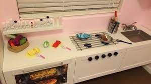 fabriquer un meuble de cuisine une cuisine de professionnel pour enfant bidouilles ikea