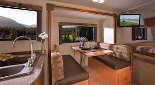 Adventurer Truck Camper Interior Decor Features Rv Decorating Awesome 11 On
