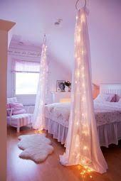 diy wohnkultur ideen mit lichterketten schlafzimmer