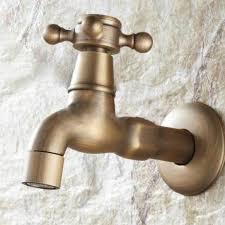 rétro robinet tap laiton mitigeur evier cascade mural lavabo