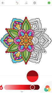 Screenshot Mandala Coloring Pages