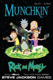 Steve Jackson Games Rick Morty Munchkin