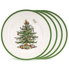 Spode Christmas Tree Glasses by Spode Christmas Tree Holiday Dinnerware Silver Superstore