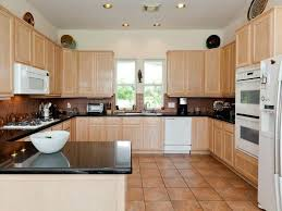 Galvanized Backsplash Kitchen Floor Tiles With Light Cabinets Attractive Intriguing Brown Color Steel Ideas
