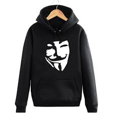 Mask V For Vendetta Evey Anarchist Freedom Fighter Utopia Guy Fawkes John Hurt Natalie Portman Thriller Man Sports Hoodies In Sweatshirts From