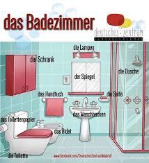 das badezimmer the bathroom lernen