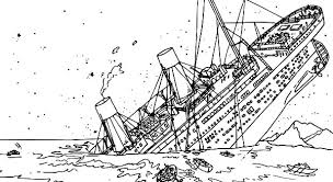 Titanic The Tragedy Of Coloring Pages PagesFull Size