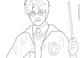 Beautiful Idea Harry Potter Coloring Pages For Kids Printable Free Books
