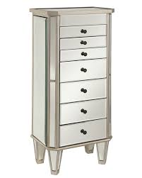 Amazon.com: Powell Mirrored Jewelry Armoire With Silver Wood ... Belham Living Hollywood Mirrored Locking Wallmount Jewelry Home Decators Collection Provence Wall Mount Armoire Target Free Standing Floor Mirror Mounted Driftwood Innovation White Chest 2018 Wooden Cabinet With Double Doors Photo Hayworth Silver Pier 1 Imports Bordeaux Cheval Kimberly Amazoncom Best Choice Products Black W Stand Rings Necklaces
