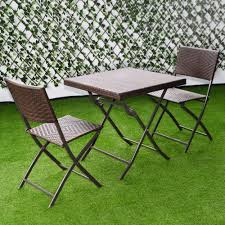 Giantex 3 PC Outdoor Folding Table Chair Furniture Set ... Oakville Fniture Outdoor Patio Rattan Wicker Steel Folding Table And Chairs Bistro Set Wooden Tips To Buying China Bordeaux Chair Coffee Fniture Us 1053 32 Off3pcsset Foldable Garden Table2pcs Gradient Hsehoud For Home Decoration Gardening Setin Top Elegant Best Collection Gartio 3pcs Waterproof Hand Woven With Rustproof Frames Suit Balcony Alcorn Comfort Design The Amazoncom 3 Pcs Brown Dark Palm Harbor Products In Camping Beach Cell Phone Holder Roof Buy And Chairswicker Chairplastic Photo Of Green Near 846183123088 Upc 014hg17005 Belleze