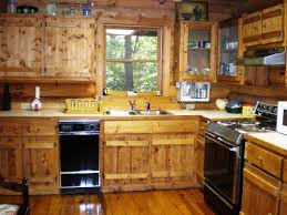 log cabin kitchen cabinets unique decor black kitchens rustic