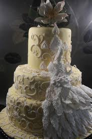Peacock Wedding Cake Ideas — LIVIROOM Decors Peacock Cakes in
