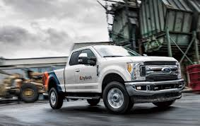 XL Hybrids Unveils First-Ever Hybrid-Electric Ford F-250 At 2018 ... Fvision In Action Ford Showed The First Video Of Futuristic The First Diesel F150 Ever Capital Winnipeg Drive How Different Is Updated 2018 Fast Black Widow Youtube Hybrid Confirmed For 20 Fox News Trucks Turn 100 Years Old Today Motor Co Historic Photos Of Louisville Kentucky And Environs Bronco Fords Suv Turns 50 Hemmings Daily Power Stroking Truck Buyers Guide Drivgline Mustang 360 Model Aa Rarities Unusual Commercial