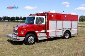 100 Pierce Trucks AM16304 2001 FL70 Light And Air Emergency Rescue Unit