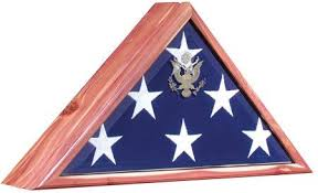 Vice Presidential Flag Case Shadow Boxes Cases Display Military