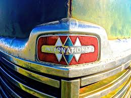 100 Whittemore Truck And Trailer Triple Diamond Emblem On A 1949 International KB5 In Manor