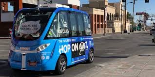 Las Vegas Downtown Self-driving Shuttle Review - Business Insider