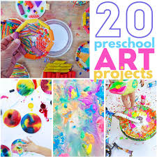 20 Preschool Art Projects Colorful And Engaging Perfect For Aged Children